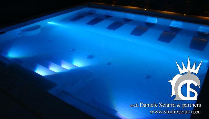 Centri benessere con piscine idromassaggio