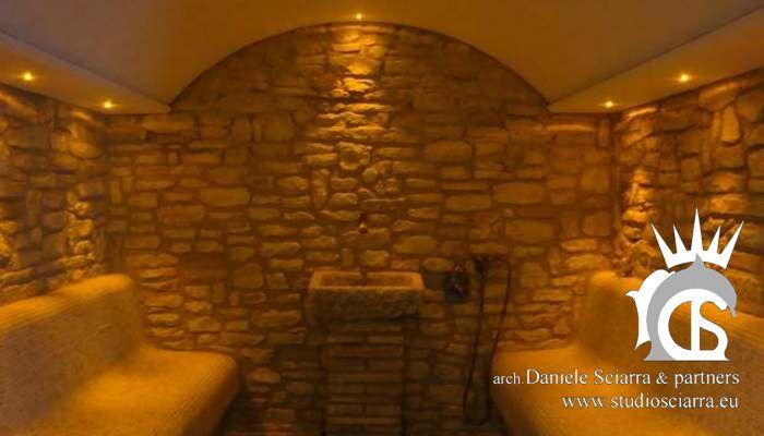 Progettazione e realizzazione centri benessere con bagno turco in eps