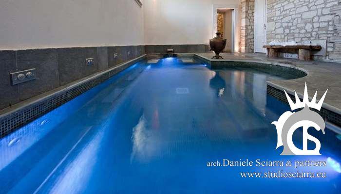 Progettazione centro benessere piscina idromassaggio e realizzazione centri benessere spa con piscina idromassaggio