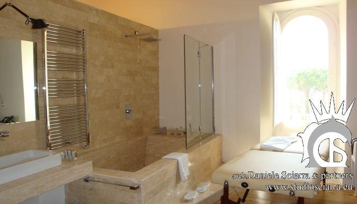 Spa Suite, la zona delle acque e dei massaggi