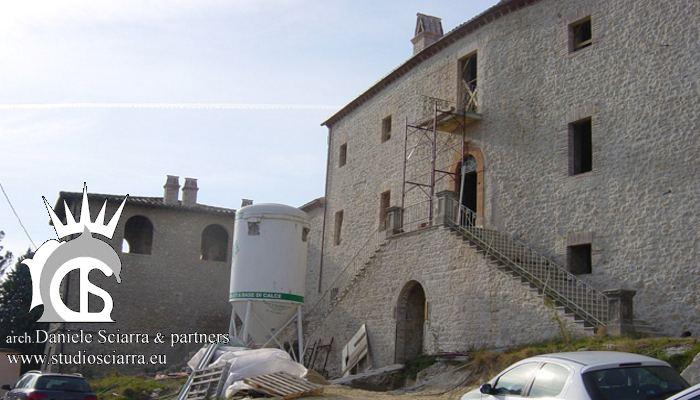 Il Castello prima della ristrutturazione