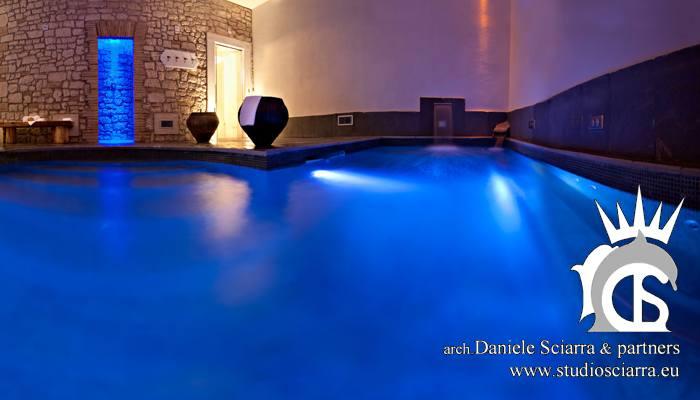 Progettazione e realizzazione Thermarium con piscina idromassaggio