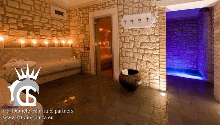 progettazione centri benessere realizzazione centri benessere spa con hammam bagno turco