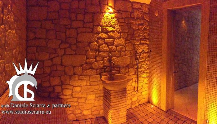 realizzazione centri benessere spa, realizzazione centri benessere hotel, realizzazione centri benessere albergo realizzazione bagno turco in pietra centro benessere spa