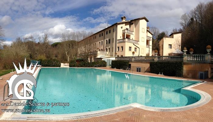Progetto centro benessere & SPA - Terme di Stigliano