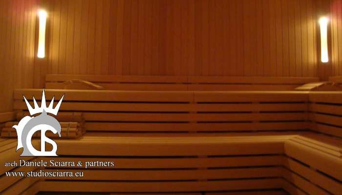 La sauna di grandi dimensioni - Terme di Stigliano