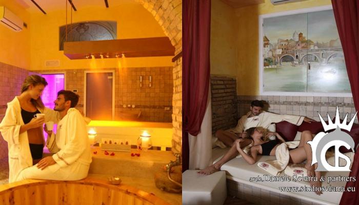 Bagno nel latte, tisaneria e zona relax - Terme di Trastevere